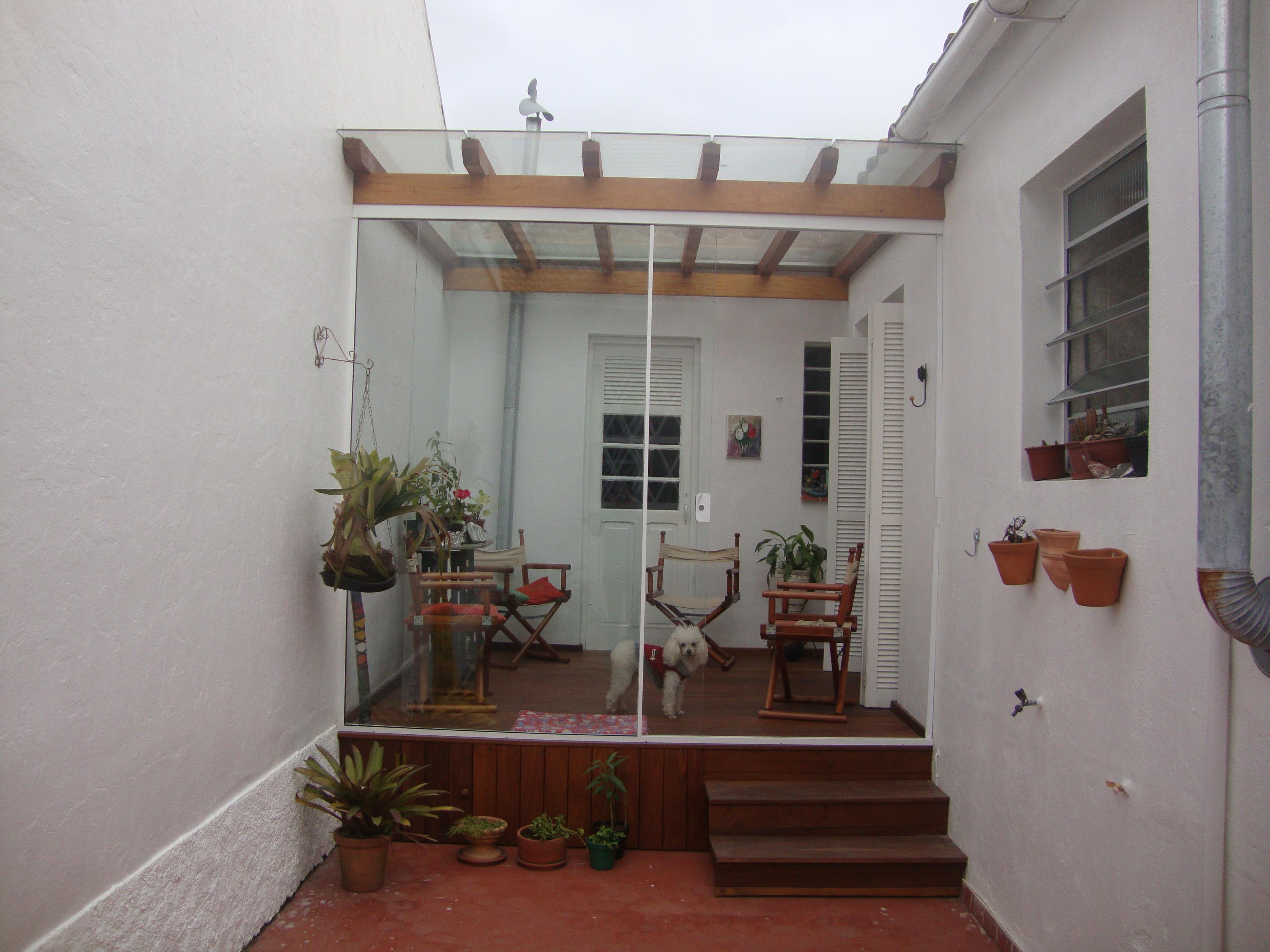 Deck e pergolado – Rua Tamandaré